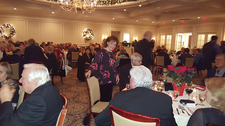 Holiday Gala Dinner Dance at a Country Club in Darien, CT