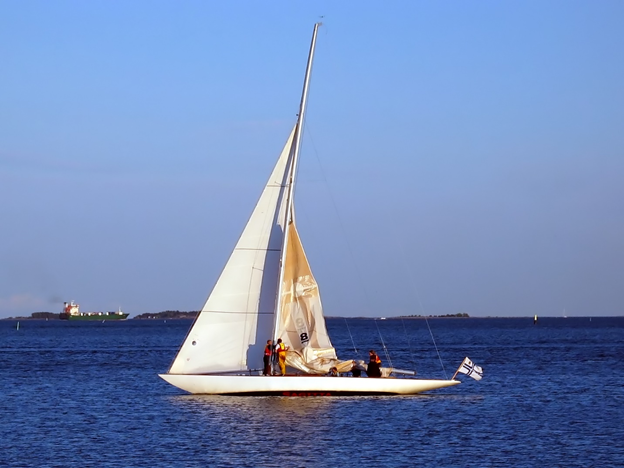 Sailing on Long Island Sound